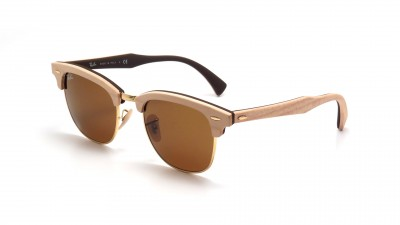 Ray-Ban Clubmaster Wood Brown RB3016M 1179 51-21 202,43 €