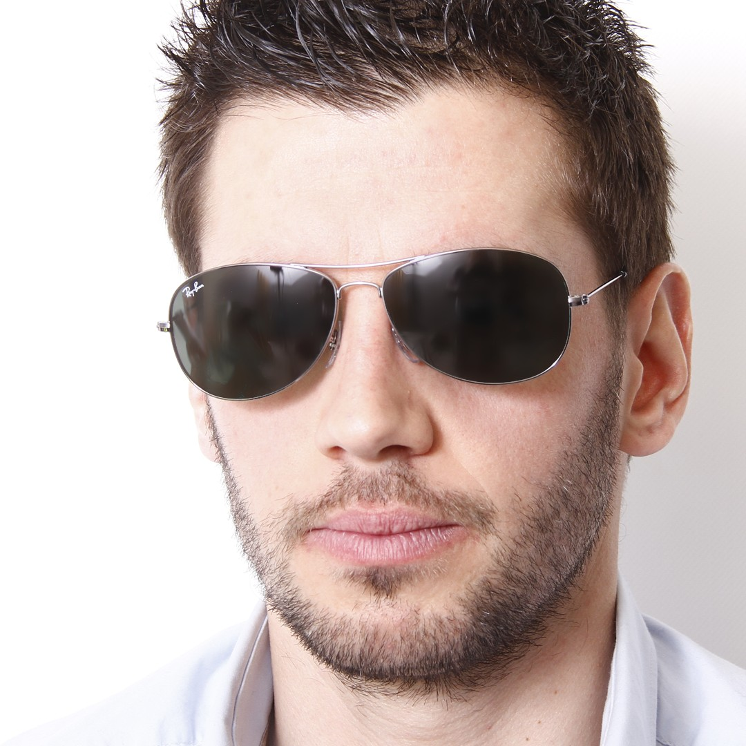 8ec3cbb071 ... sunglasses c0074 03be8  coupon for ray ban cockpit silver rb3362 004 56  14 visiofactory 0d15b ace94