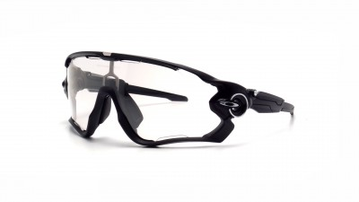 Oakley OO9290 Jaw Breaker 14 Schwarz Glasfarbe photochromen Medium