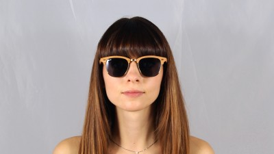 Ray-Ban Clubmaster Wood Brown RB3016M 1180R5 51-21