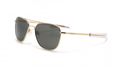 Randolph AF058 Aviator 23K Gold polarisiert Gläser Medium 210,13 €