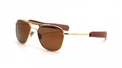 Randolph AT51632 TNLTHR Aviator II 23K Gold Polarisiert Medium 280,24 €