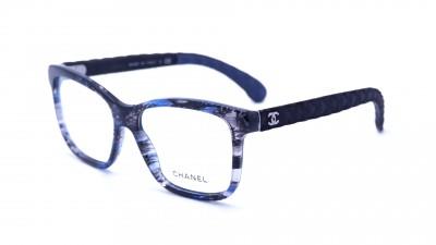 Brillen Chanel CH3334 Matelassé 1552 Blau Medium 183,36 €