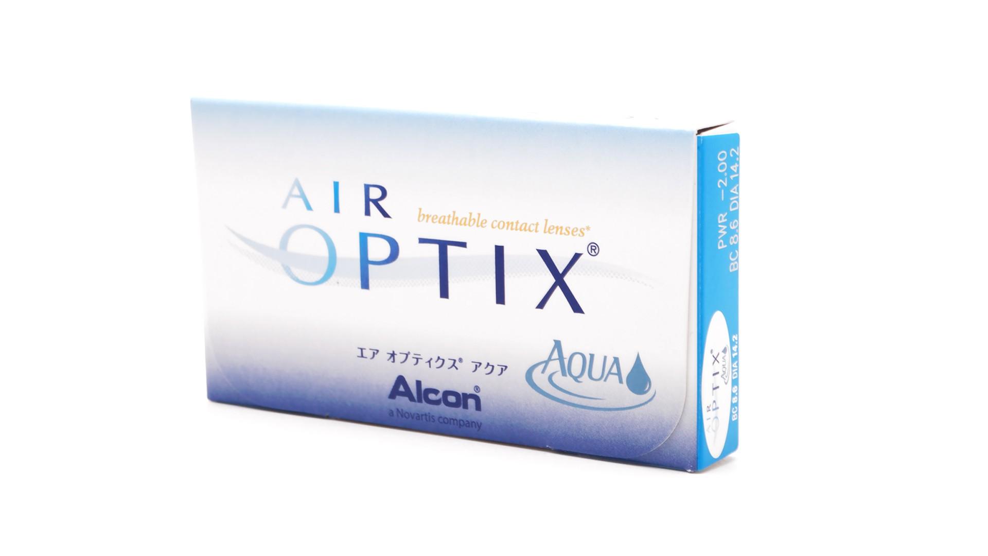 Lenses De Contact Air Optix Aqua Monthly 6l Visiofactory