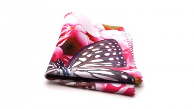 Visio microfibre romantique Schmetterling Rosa M03 2,80 €