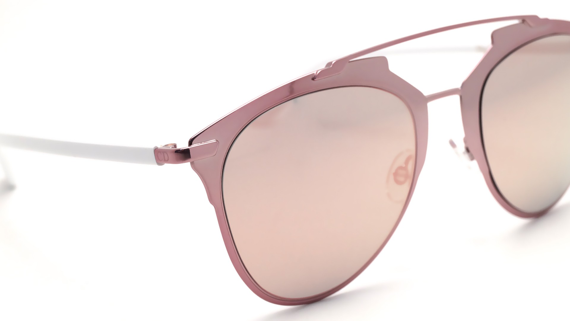 Dior Reflected Pink White Rose Diorreflected M2q0j 52 21 Medium Miroirs