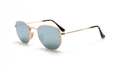 Ray-Ban Hexagonal Flat Lenses Gold RB3548N 001/30 48-21 93,67 €