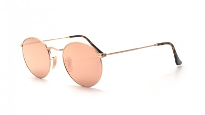 Ray-Ban Round Shiny gold Metal Flat Lenses Gold RB3447N 001/Z2 50-21 96,09 €