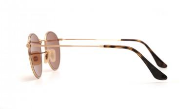 Ray-Ban Round Metal Flat Lenses Or RB3447N 001/Z2 50-21