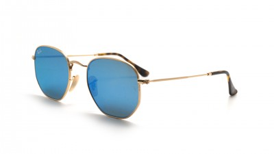 Ray-Ban RB3548N 001/9O 51-21 Gold Medium Flash