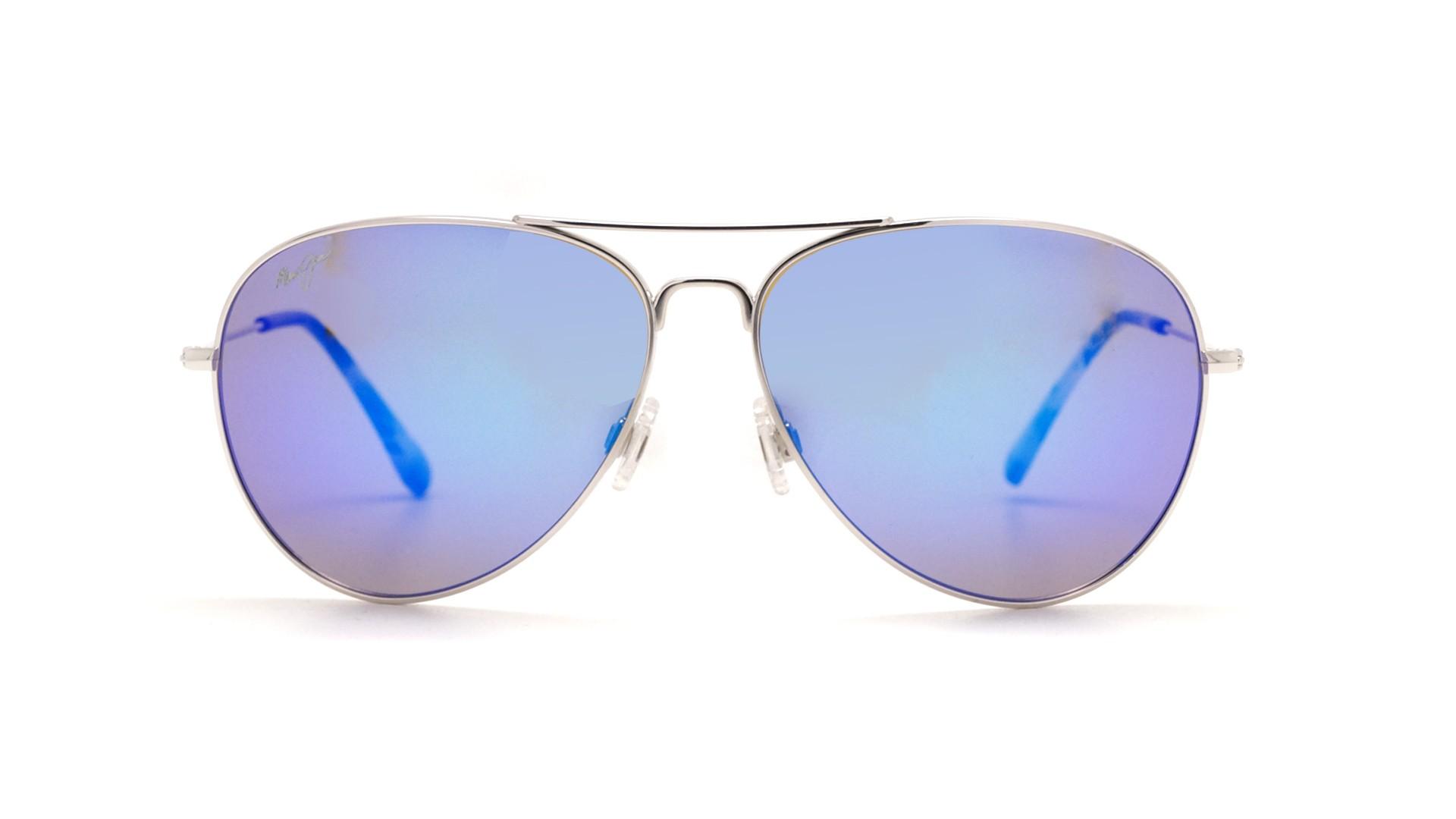 Maui Jim Mavericks Silver B264 17 61 14 Polaris 233 S