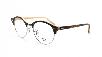 Lunettes de vue Ray-Ban Clubround Havana/opal peach RX4246 RB4246V 5239 49-19 57,51 €