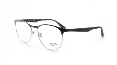 Eyeglasses Ray-Ban Clubmaster Silver/black RX6365 RB6365 2861 53-17 63,96 €