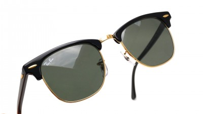 Ray-Ban Clubmaster Noir RB3016 W0365 49-21