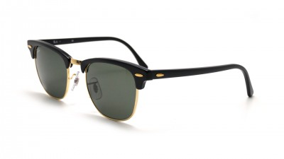 Ray-Ban Clubmaster Classic Black RB3016 W0365 51-21 Medium