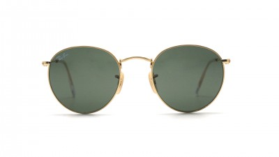 Ray Ban Round Metal Or RB3447 001 50 21 | Prix 79,95