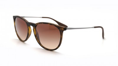 Ray-Ban Erika Écaille RB4171 865/13 54-18 Medium Dégradés
