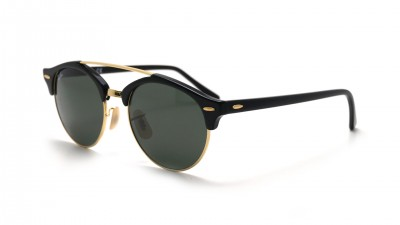 Ray-Ban Clubround Double Bridge Schwarz RB4346 901 51-19 89,15 €