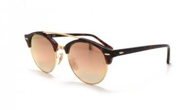 Ray-Ban Clubround Double Bridge Havana RB4346 990/7O 51-19 108,98 €