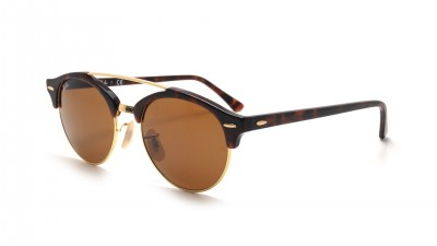 Ray-Ban Clubround Double Bridge Havana RB4346 990/33 51-19 96,09 €