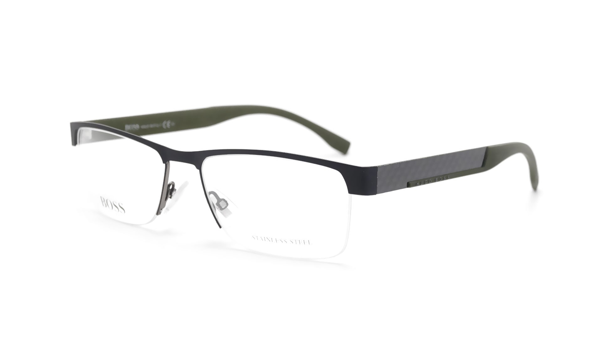Hugo Boss 0644 2H1 56-17 Black Mat | Visiofactory