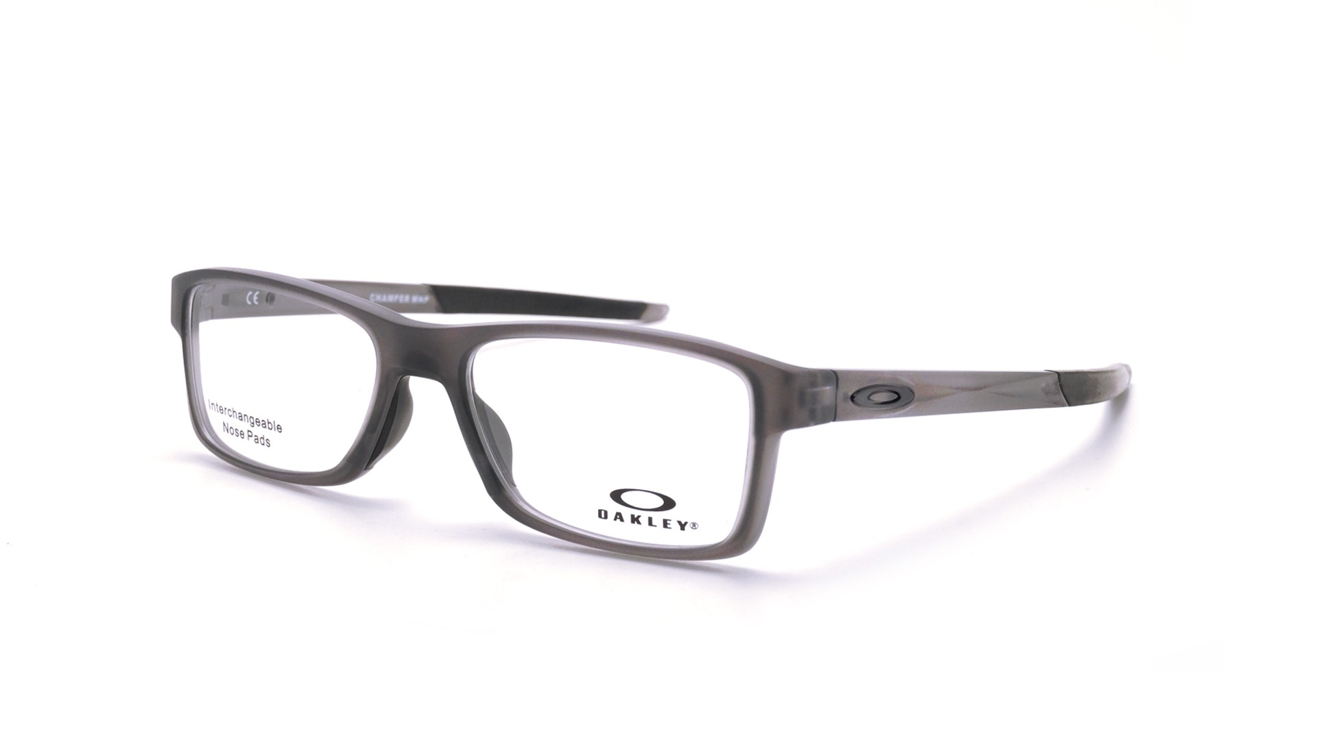 Grey Smoke Gris Mat 03 54 Ox8089 Bridge 18 Satin Oakley Tru Chamfer Mnp Medium 43j5ARL