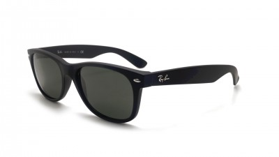 Ray-Ban New Wayfarer Black Matte RB2132 622 52-18 Small