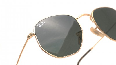 Ray-Ban Hexagonal Flat Lenses RB3548N 001 51-21 Or