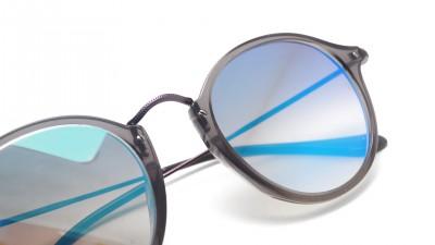 Ray-Ban Round Fleck Flat Lenses Bleu RB2447N 6255/4O 49-21