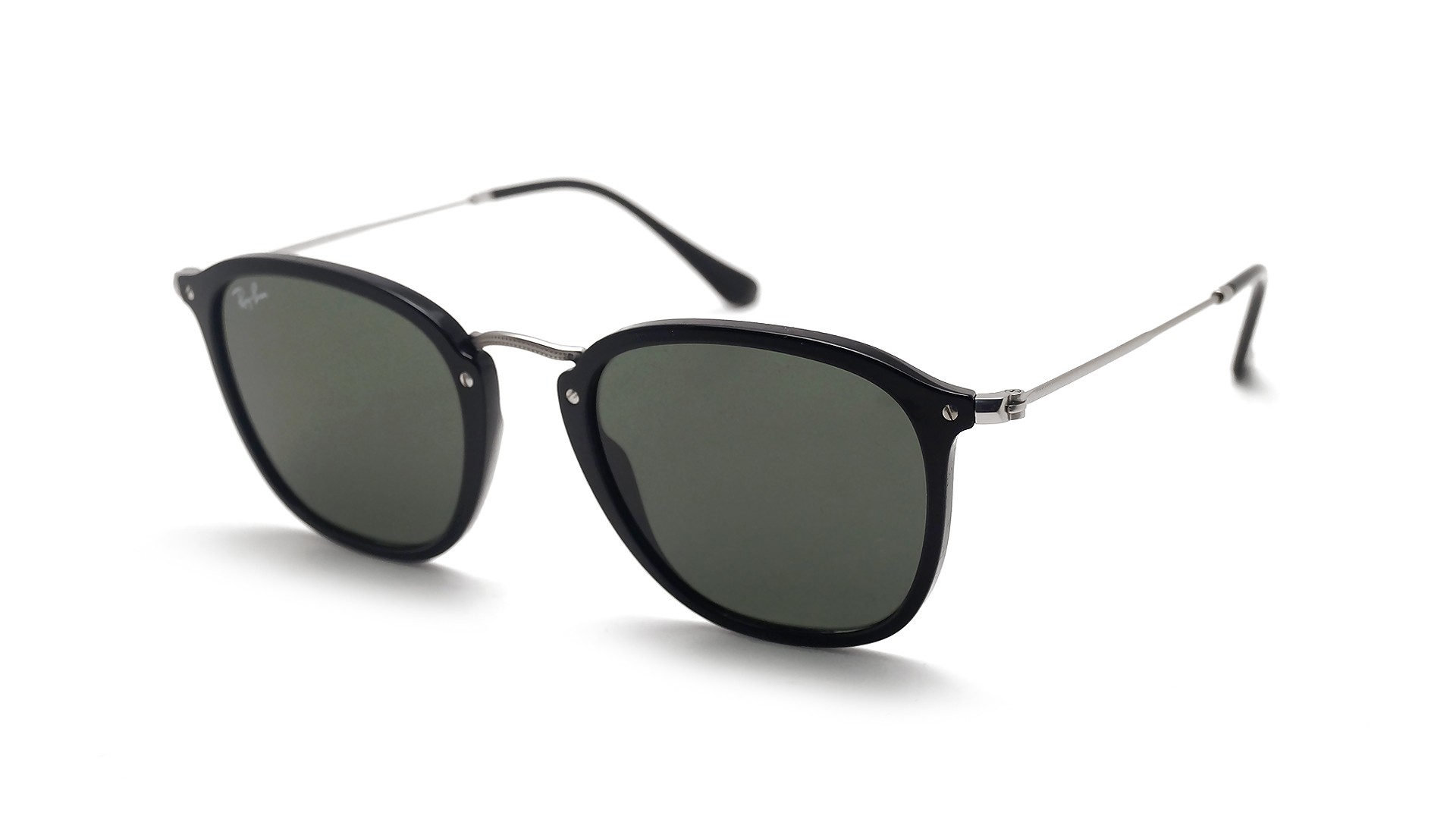 Ray-Ban RB2448N 901 51-21 Flat Lenses Black