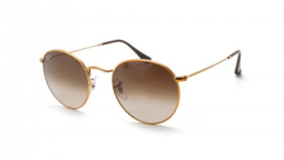 Ray-Ban Round Metal Gold RB3447 9001/A5 50-21 Gradient