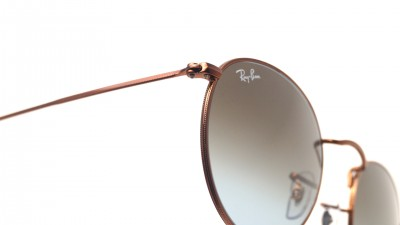Ray-Ban Round Metal Brown RB3447 9003/96 50-21 Gradient