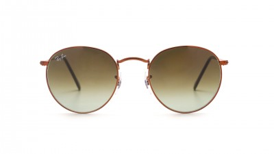 Ray-Ban Round Metal Brown RB3447 9002/A6 50-21 Gradient