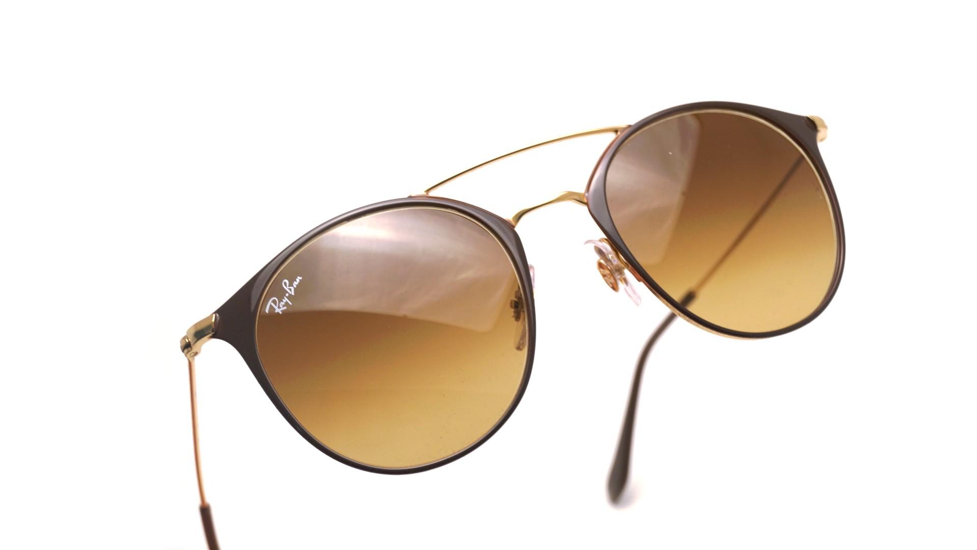ddba97e70522 Sunglasses Ray-Ban RB3546 9009/85 49-20 Brown Small Gradient