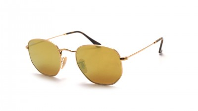 Ray-Ban Hexagonal Flat Lenses Gold RB3548N 001/93 51-21 93,67 €