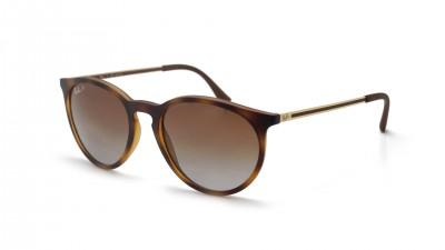 Ray-Ban Erika Havana Matt RB4274 856/T5 53-18 Mittel Polarisierte Gläser Gradient Gläser