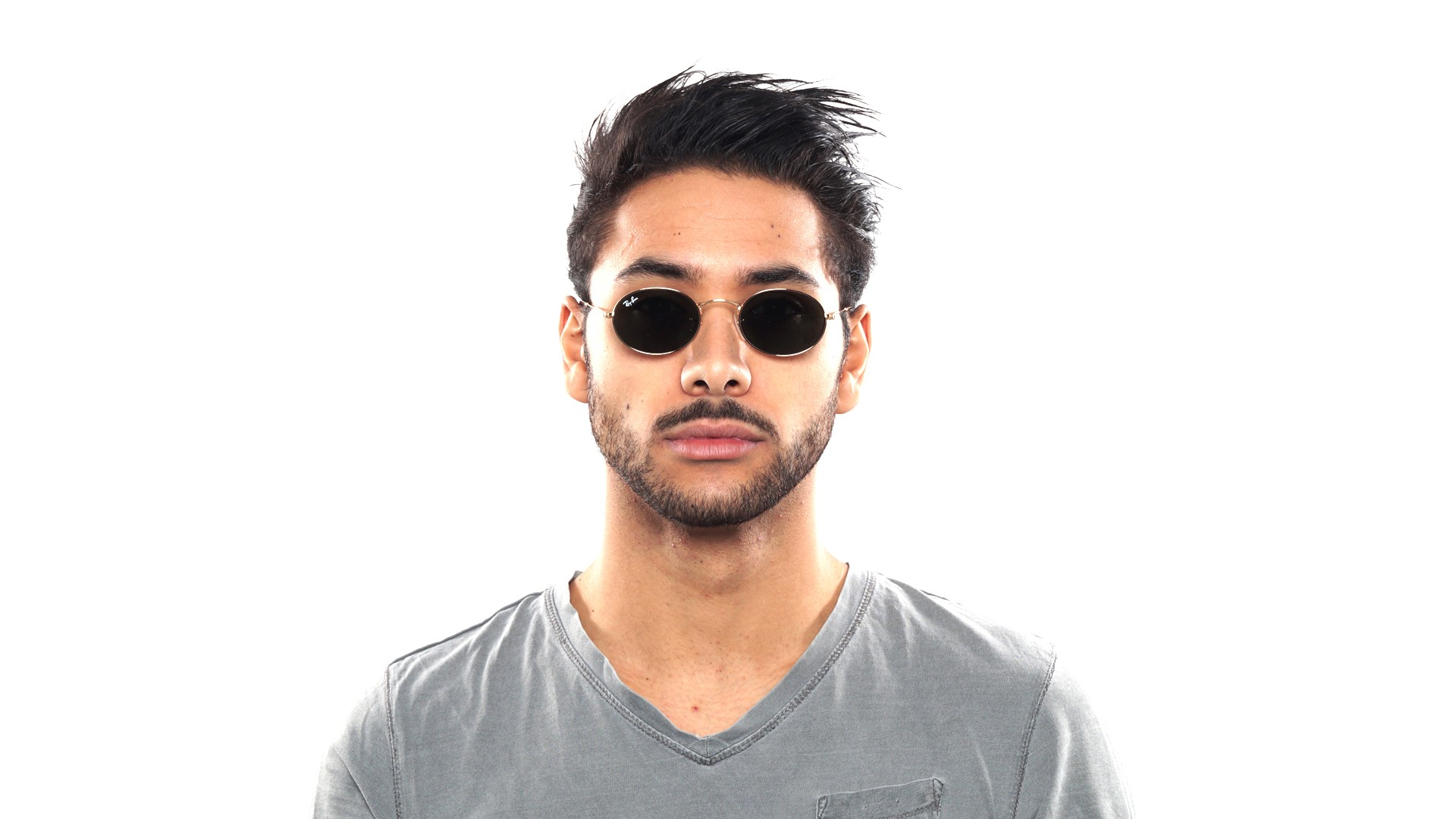 ray ban homme ovale