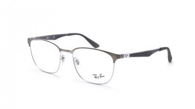 Ray-Ban Clubmaster Silber Matt RX6356 RB6356 2874 52-18