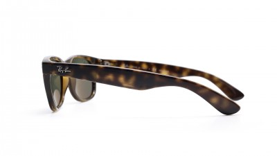 Ray-Ban New Wayfarer Tortoise RB2132 902/58 52-18 Polarized