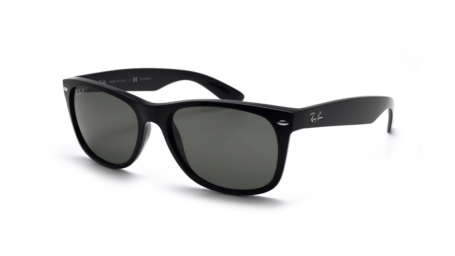 ray ban aviator homme polarisee black