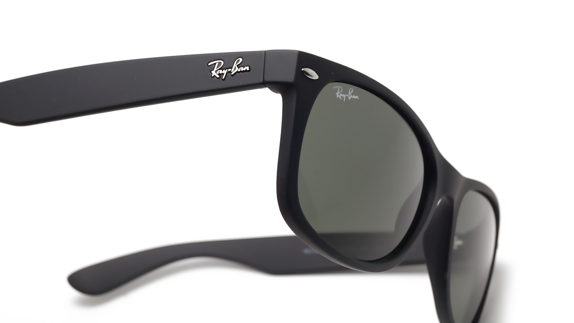 ray ban new wayfarer black mat