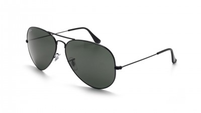 Ray-Ban Aviator Large Metal II Black G-15 RB3026 L2821 62-14 Large