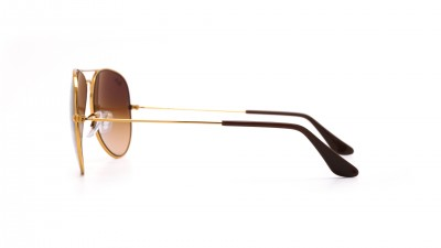 Ray-Ban Aviator Gradient Large metal Or RB3025 9001/A5 58-14