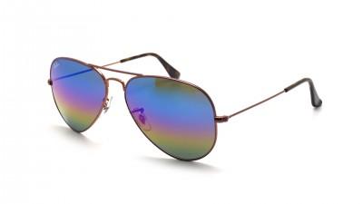 Ray-Ban Aviator Large Metal Rainbow Brun Mat RB3025 9019/C2 58-14 91,58 €