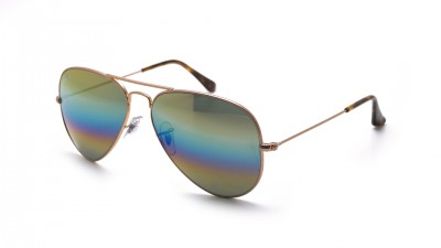 Ray-Ban Aviator Large Metal Rainbow Gold Matte RB3025 9020/C4 58-14 139,95 €