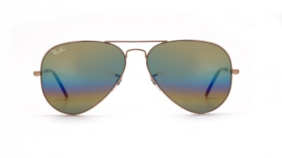 Ray-Ban Aviator Large Metal Rainbow Or Mat RB3025 9020/C4 58-14