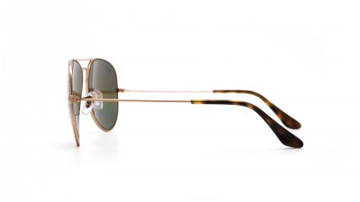 Ray-Ban Aviator Large Metal Rainbow Gold Matte RB3025 9020/C4 58-14