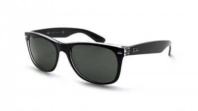 Ray-Ban New Wayfarer Black RB2132 6052 52-18 Small