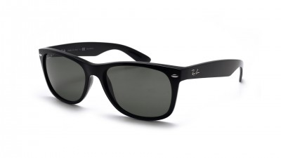 Ray-Ban P New Wayfarer Black RB2132 901/58 52-18 Polarized