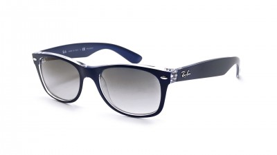 Ray-Ban New Wayfarer Bleu RB2132 6053/71 52-18 Small Dégradés